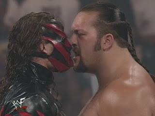 WWE / WWF King of the Ring 1999 -  Kane faced Big Show in the Quarter Final