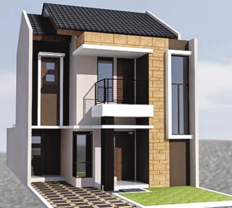 Sketsa Rumah Minimalis Type 21 Rumah En