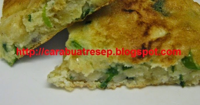cara membuat telur dadar padang super tebal resep