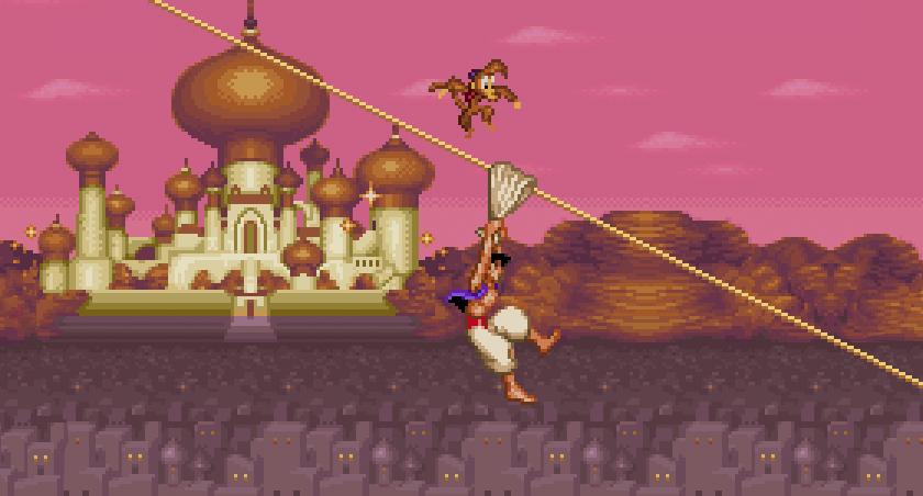 Resultado de imagem para Alladin jogo