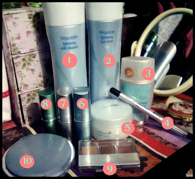 My Hidden Treasure: (review) Produk Wardah ku
