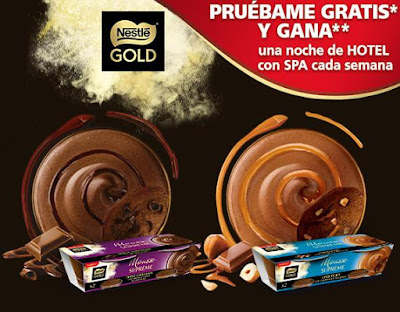 PRUEBA GRATIS MOUSSE SUPREME NESTLE GOLD