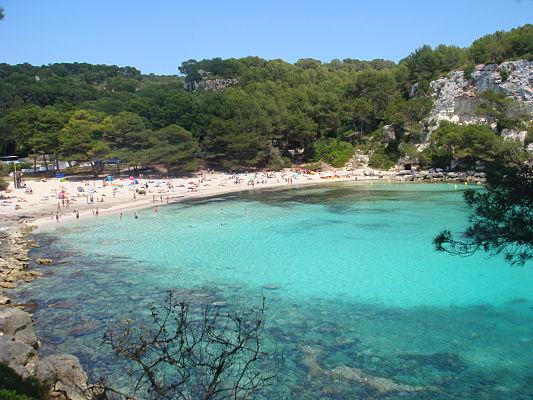 praia macarella menorca