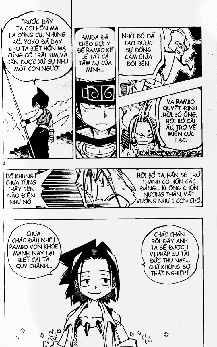 Shaman King [Vua pháp thuật] chap 100 trang 20