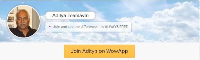 https://www.wowapp.com/w/adityas/Aditya-Teamavm