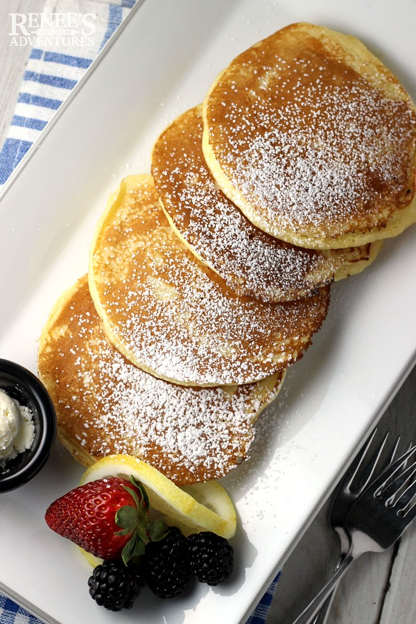 Lemon Ricotta Pancakes | Renee's Kitchen Adventures