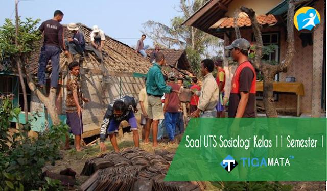 75 Contoh Soal UTS Sosiologi Kelas 11 Semester 1 Kurikulum 2013 dan Jawabannya
