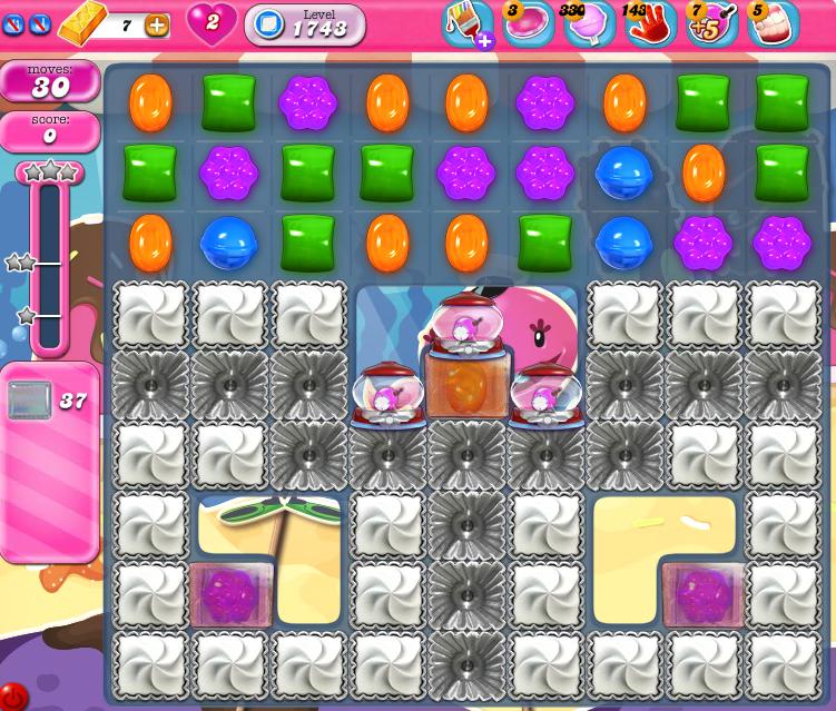 Candy Crush Saga 1743