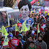 Hundreds of thousands rally in South Korea capital of Seoul to celebrate President Park Geun-hye impeachment