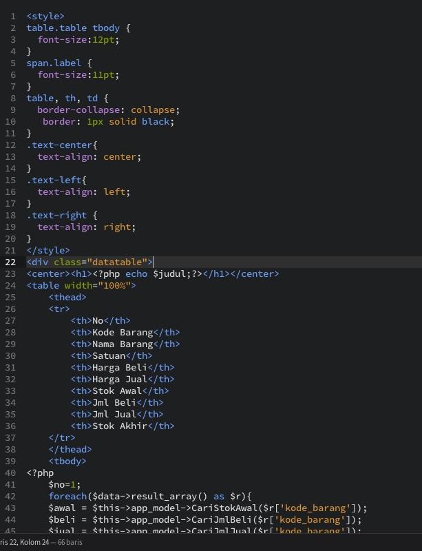 Menggunakan Dompdf Di Codeigniter : menggunakan, dompdf, codeigniter, Codeigniter, Dompdf, Studi, Kasus, Inventory
