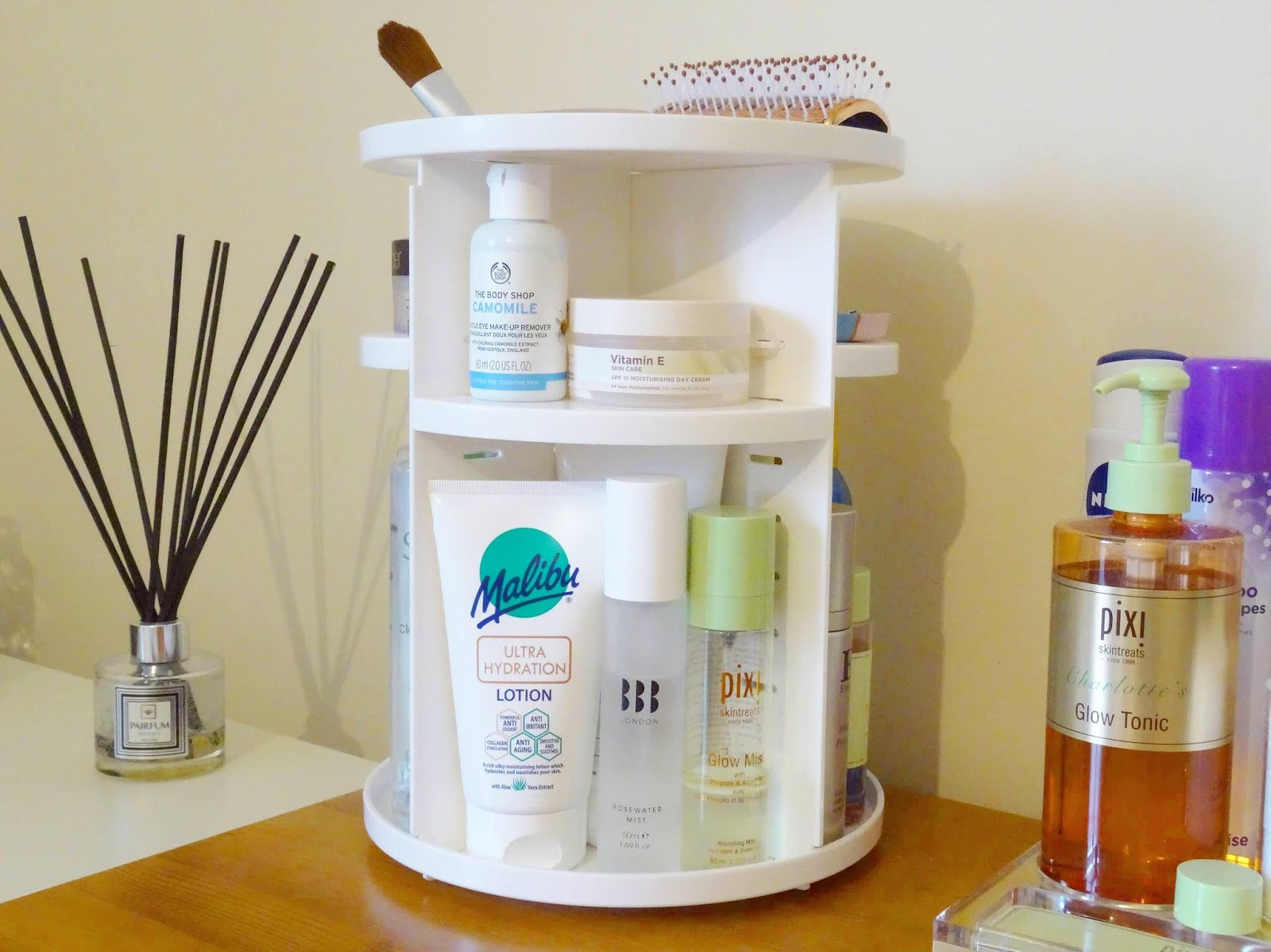 The Rotating Skincare Organiser You Need