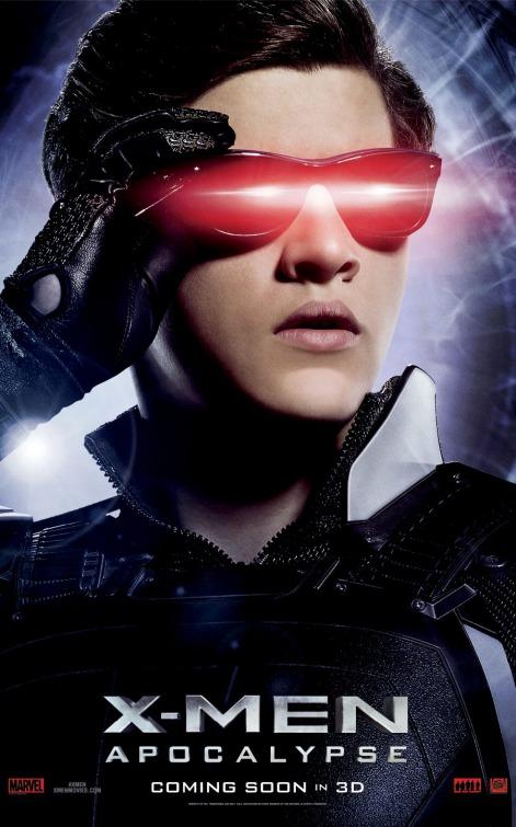 X-Men Apocalypse Cyclops movie poster
