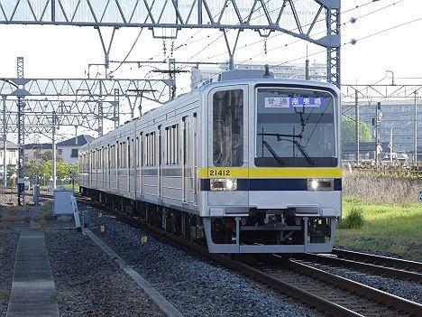 【ダイヤ改正で1本残存!】20400型の普通 南栗橋行き