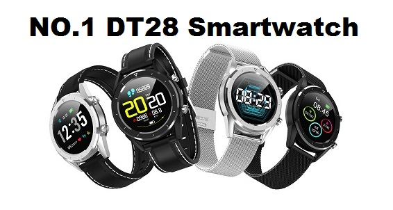 NO.1 DT28 New  ECG+PPG Smartwatch
