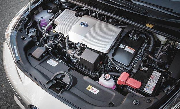 2017 Toyota Prius Configurations Three Touring