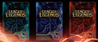 Cara GRATIS Mendapat Gift Card League of Legends (Free LoL RP)
