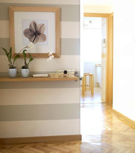 Ideas para decorar recibidores pequeños-7