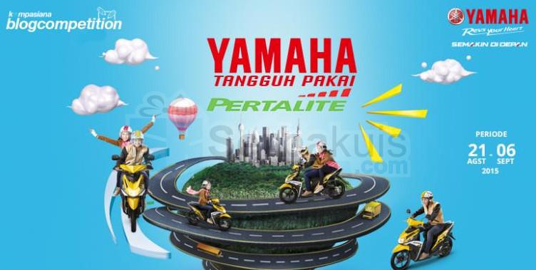 Kontes Blog Yamaha Pertalite Berhadiah Uang 12 Juta