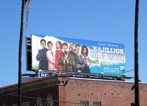 Bajillion Dollar Properties season 2 billboard