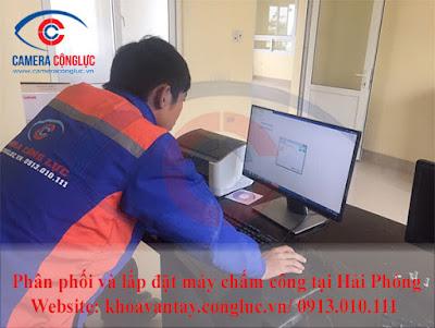 Sau khi hoàn thành lắp đặt chúng tôi sẽ hướng dẫn cụ thể khách hàng cách sử dụng hệ thống máy chấm công vân tay Ronald Jack X628 Plus.