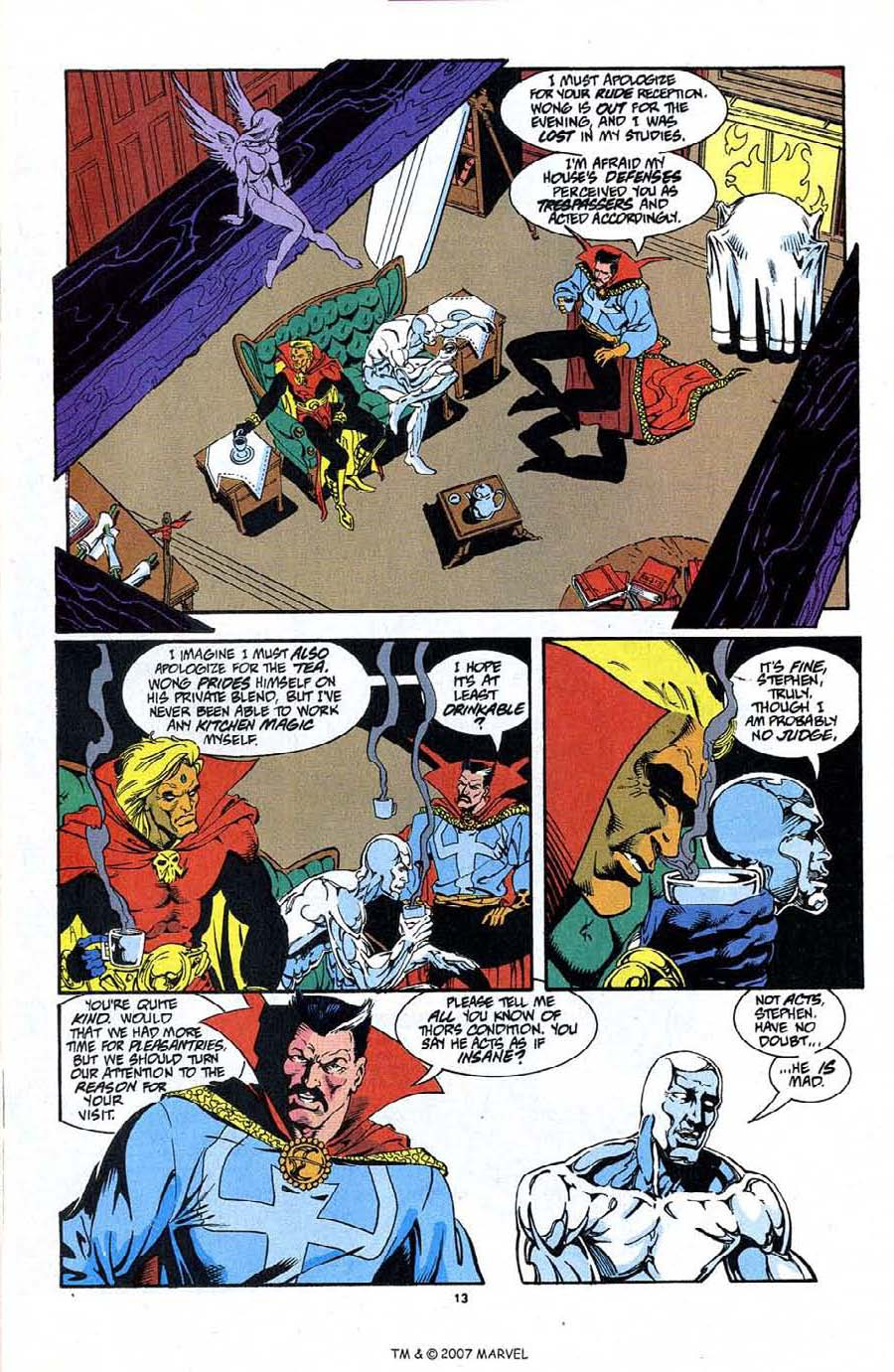Read online Silver Surfer (1987) comic -  Issue #87 - 15