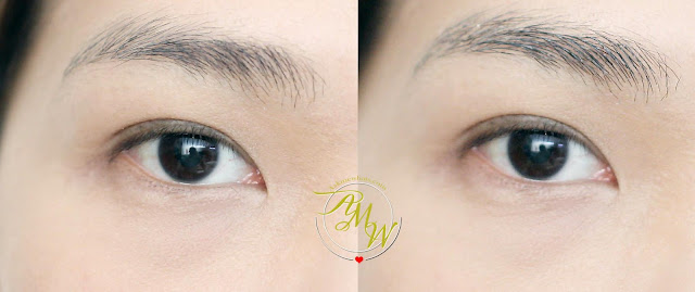 before and after photo of Flormar Brow Fixator Mascara_askmewhats