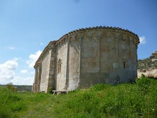 Ermita románica de San Salvador. Ábside