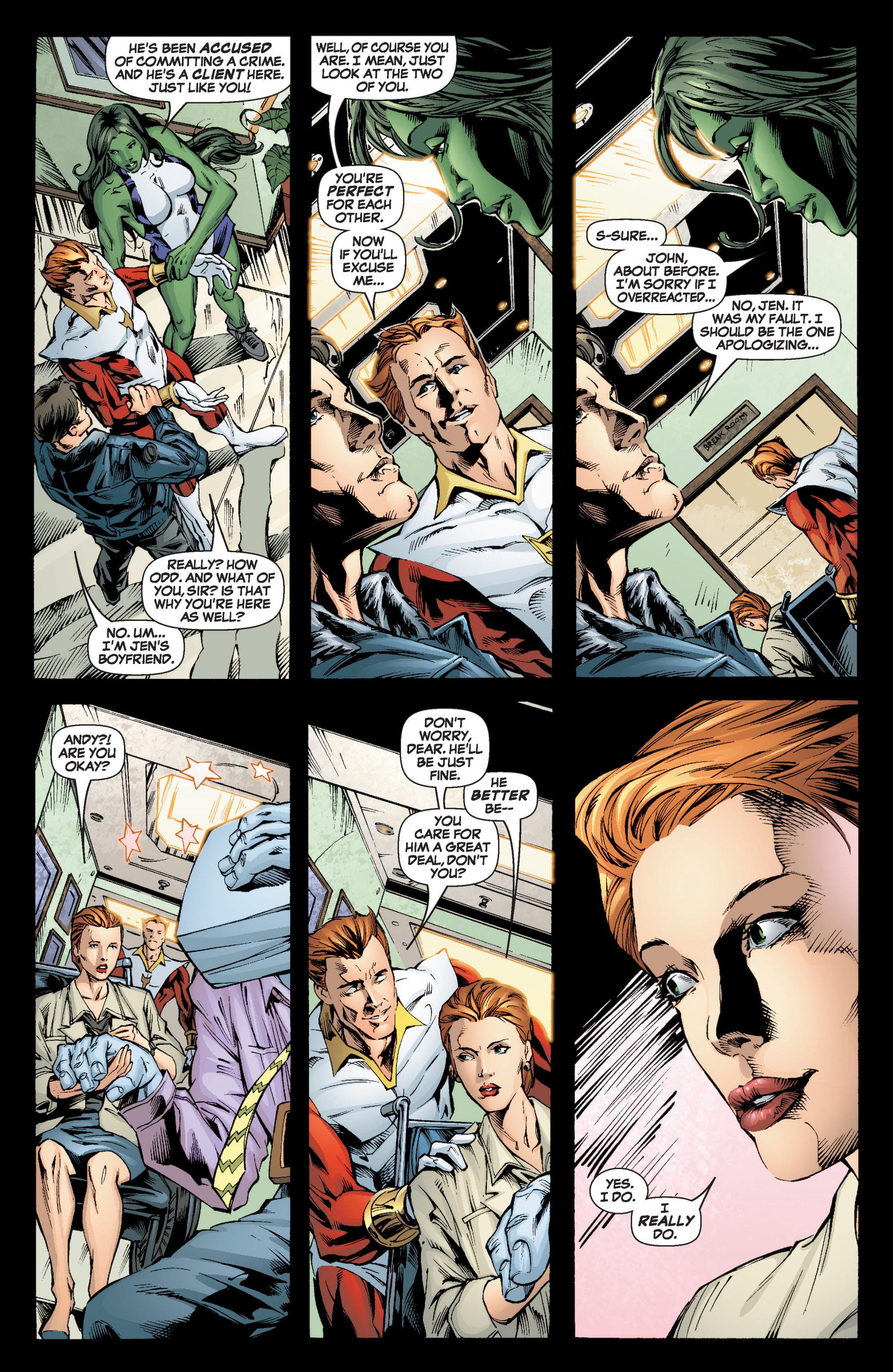 Read online She-Hulk (2005) comic -  Issue #6 - 19