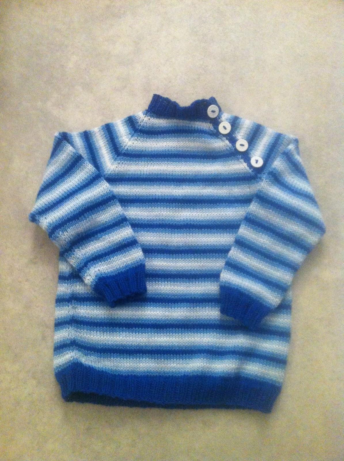 053a7425 ... litt mindre av to lyseblå fargar og pittelitt kvitt. Og til saman so  vart jo det litt. Nok til ein genser til ein 3 åring i vertfall. Eller  ikkje.
