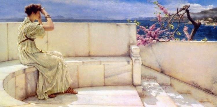 Expectativas - As mais belas pinturas de Lawrence Alma-Tadema - (Neoclassicismo)