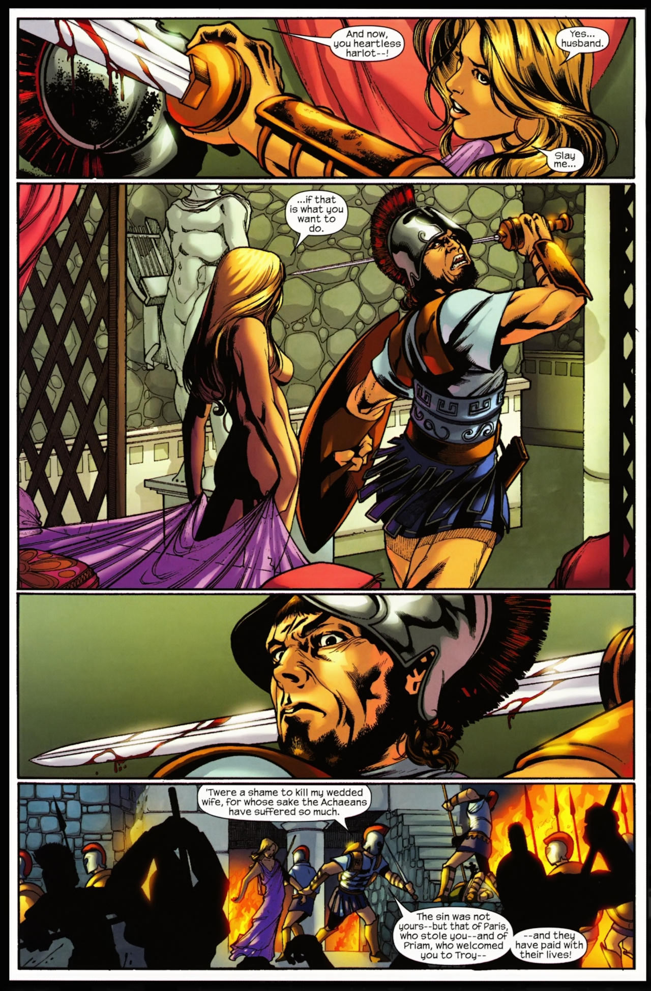 Read online Trojan War comic -  Issue #5 - 14