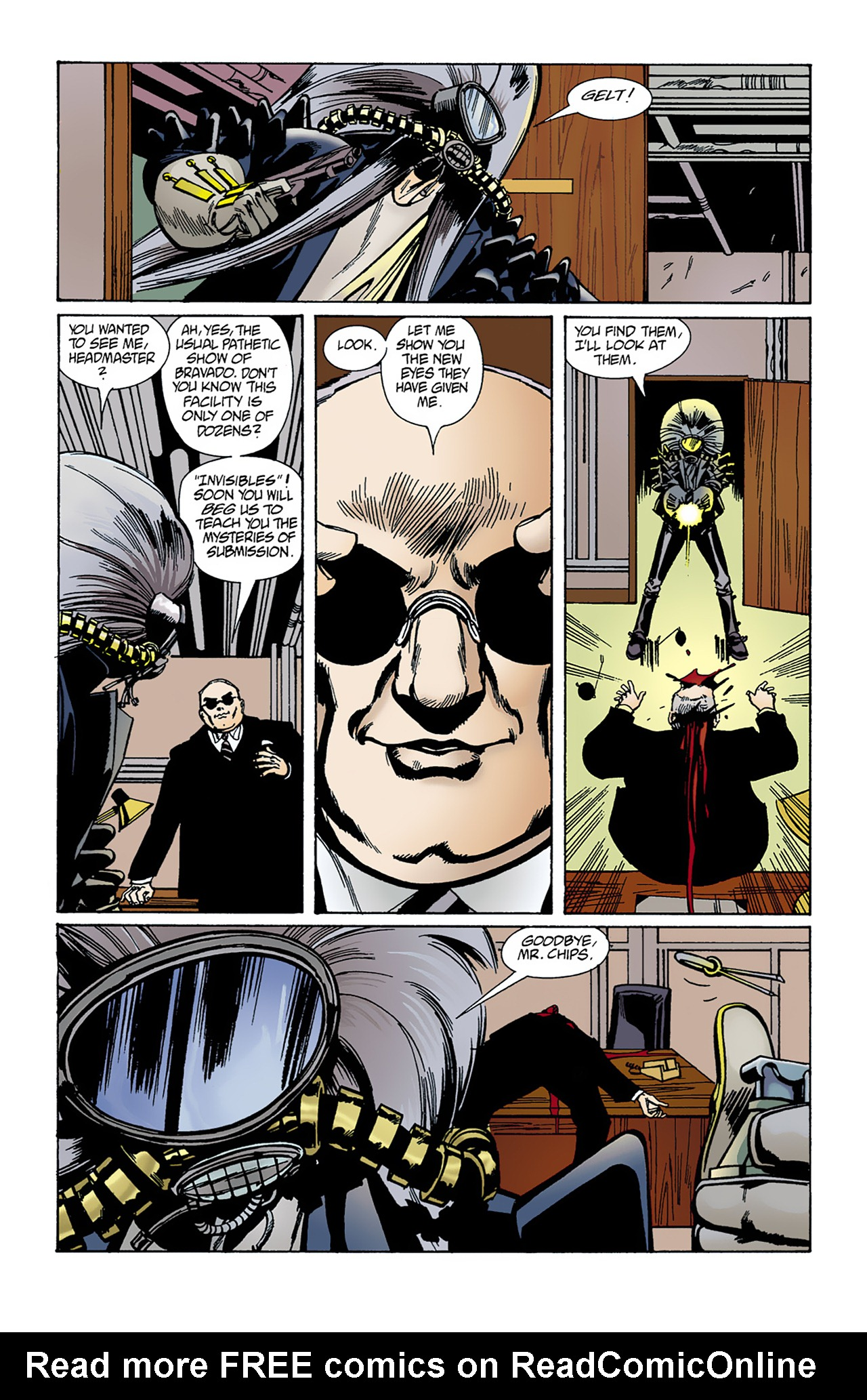 The Invisibles (1994) 1 Page 36