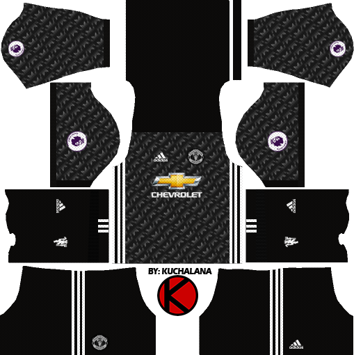 bfad3852c Manchester United Kits 2017 2018 - Dream League Soccer - Kuchalana
