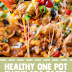 Healthy One Pot Enchilada Pasta (Vegan & Gluten Free)
