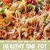 Healthy One Pot Enchilada Pasta (Vegan & Gluten Free)