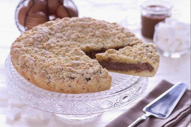 Sbrisolona alla nutella con il bimby tm5 ricette bimby for Bimby ricette dolci