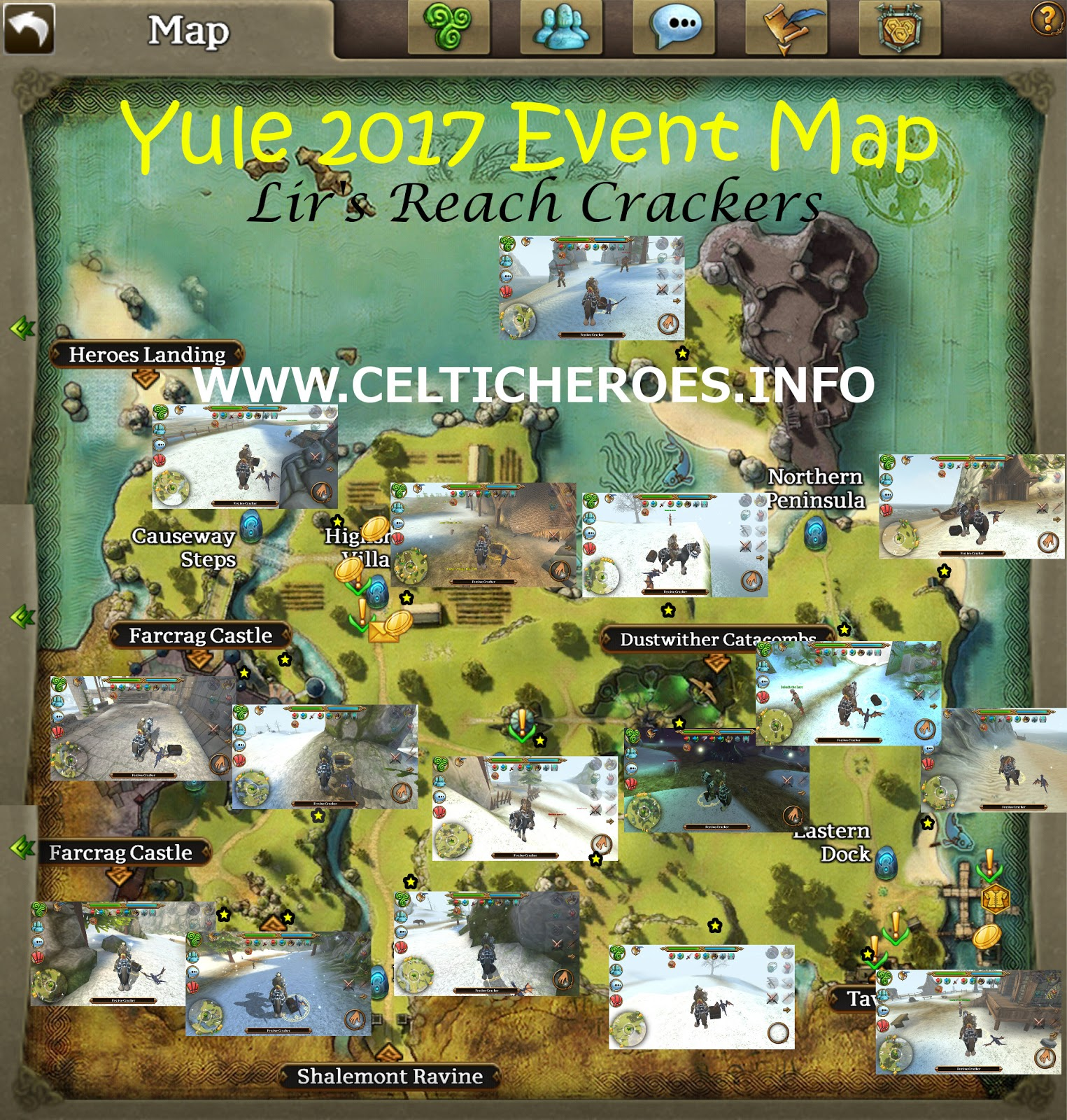 Yule 2017 Event Guide - Celtic Heroes Tavern