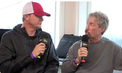 Speed51.com 's Bob Dillner  and Tim Bryant Track Promoter