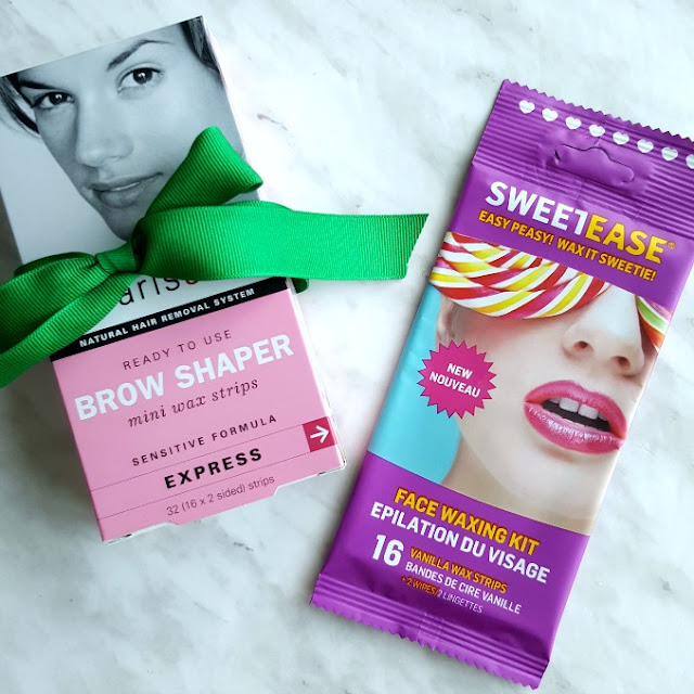 Sweet Ease waxing strip, Parissa Brow Shaper Wax Strips, Canadian Beauty Blog,