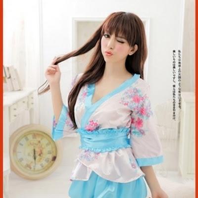 B2LLG Jual Lingerie Murah Baju Daster Wanita Ala Korea Piyama 2801abaad6