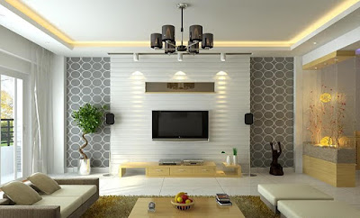 Living room modern interior design ideas