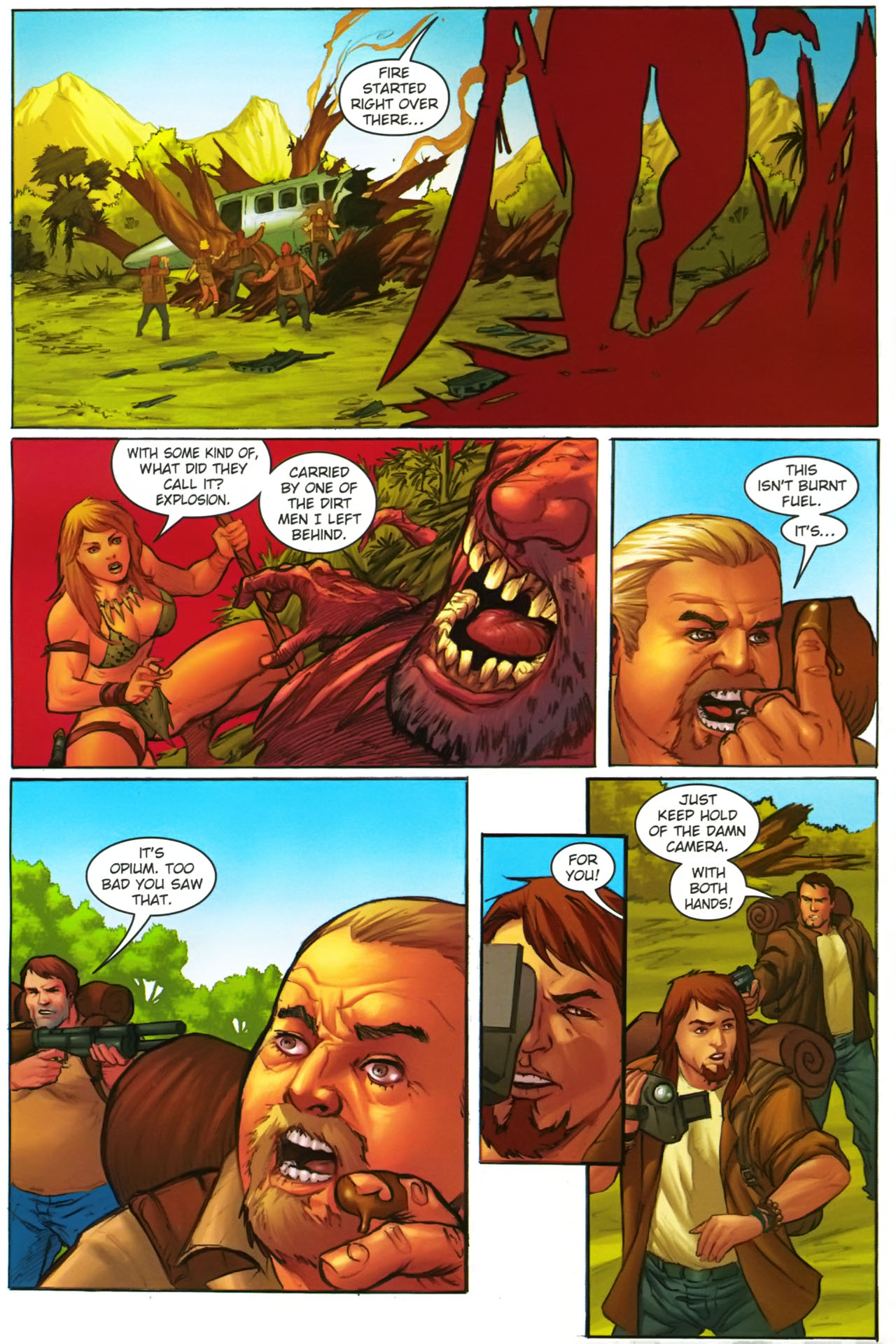 Read online Jungle Girl comic -  Issue #2 - 23