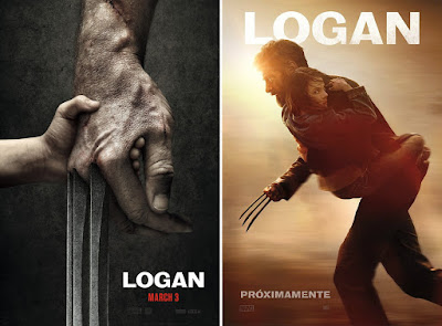 "Wolverine ""Logan"" X-Men Teaser Movie Posters"