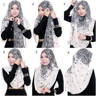 Tips Berhijab Modern Style 3