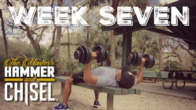 Hammer and Chisel Week 7 - Hammer and Chisel Workout Sheets - Hammer and Chisel for Obstacle Course Racing - Hammer and Chisel Challenge Group