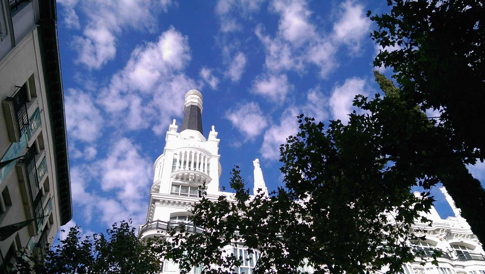 Plaza de Santa Ana, Madrid, septiembre 2016