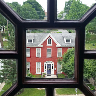 view from a Bellefonte Bed and Breakfast