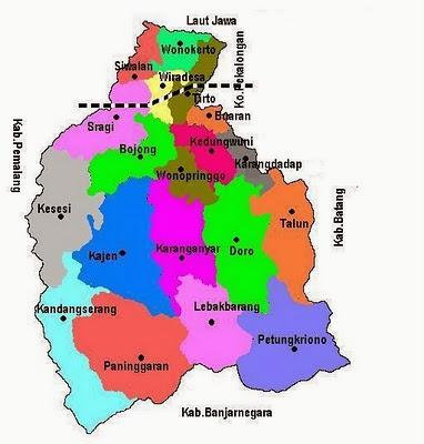 Desa Bojongminggir Kecamatan Bojong Kabupaten Pekalongan