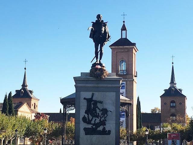 Vista de la Plaza de Cervantes
