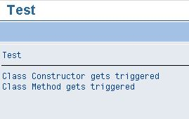 how to write a constructor